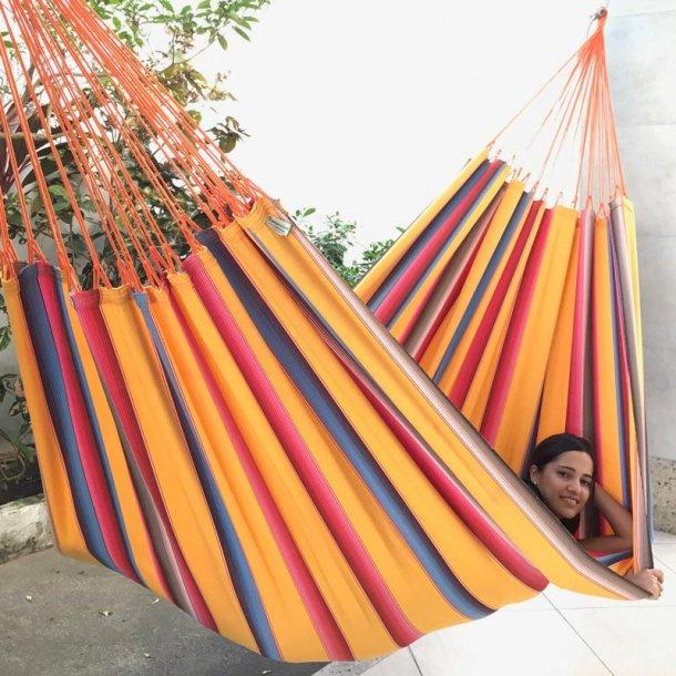 Mexico ORO hängmatta i vackra starka gula