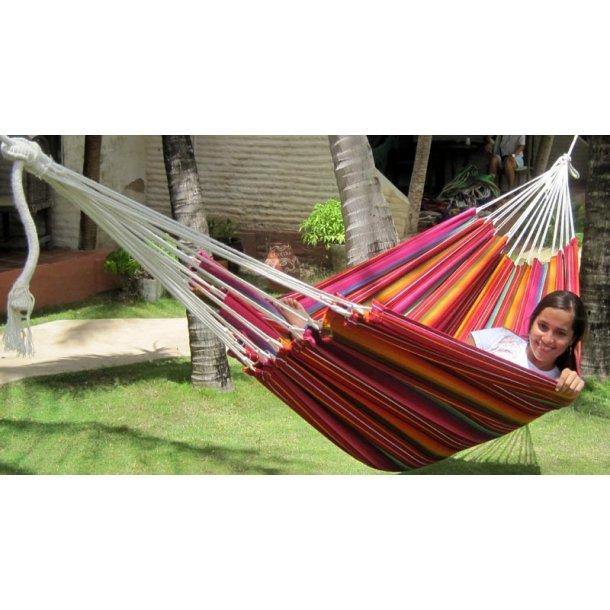 Guatemalamix färger, hängmatta i slitstarkt tyg